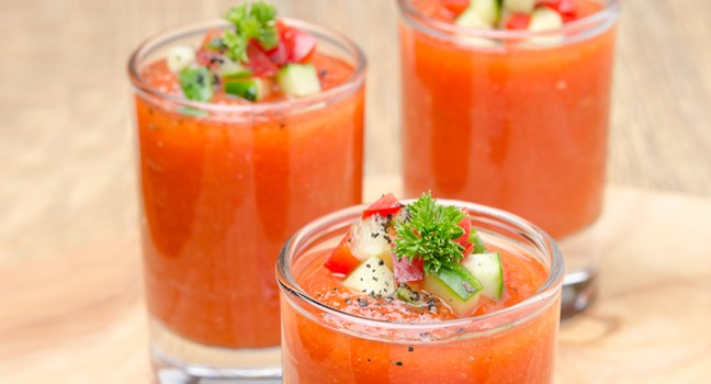 Smoothie rouge carotte