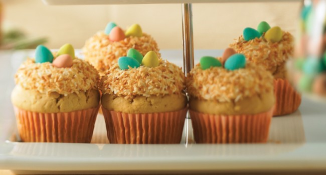 Cupcakes au citron et à la noix de coco