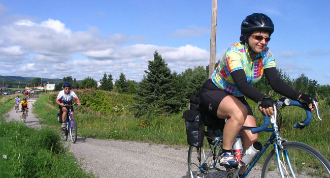 Vélo sans souci signé FADOQ