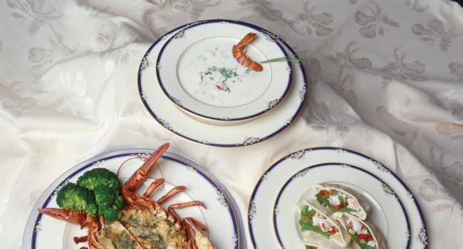 Soupe crémeuse au homard