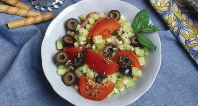 Salade à la méditerranéenne