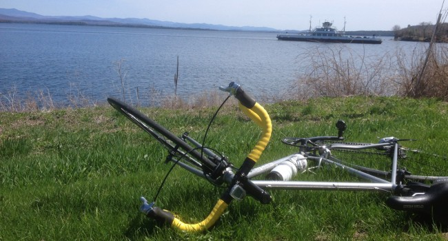Vélo et rando le long du lac Champlain