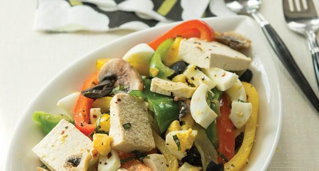 Sauté de légumes végétarien