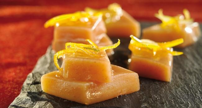 Caramel mou au fenouil et agrumes