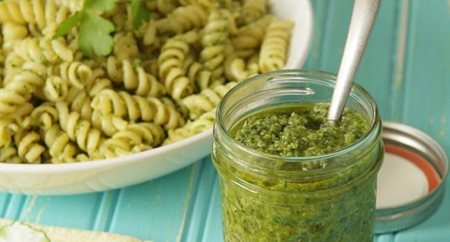 Pesto au persil et à la sauge