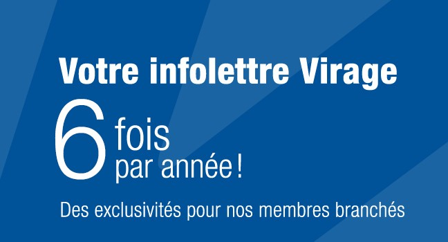 Inscription à l'infolettre du Virage