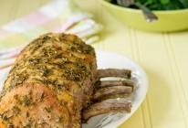 Rôti de carré de porc aux aromates