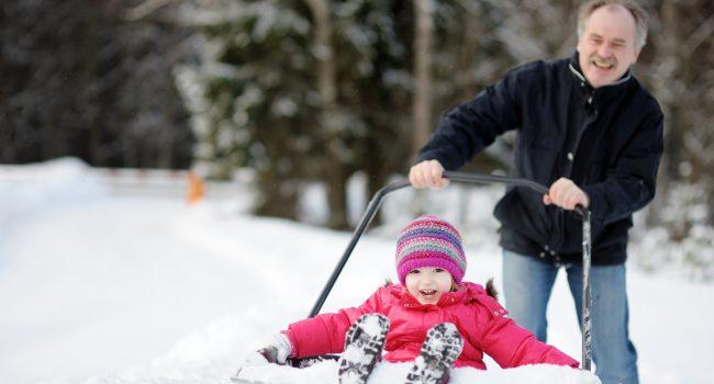 10 plaisirs d'hiver à partager avec vos petits-enfants