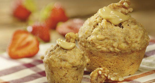 Muffins aux bananes et à l'érable