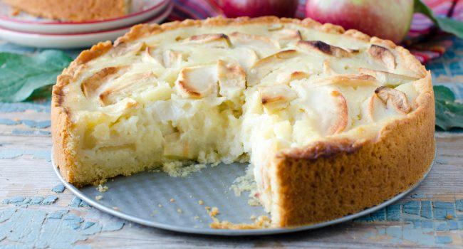 Gâteau aux pommes du Québec