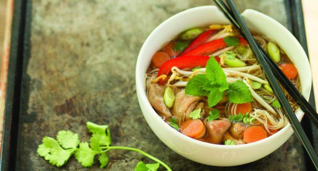 Soupe au bœuf style vietnamien