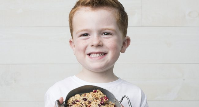 Biscuits-macarons aux canneberges et au chocolat blanc