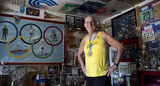Champion du monde, à 77 ans