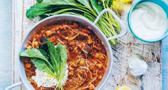 Soupe épicée  aux légumineuses