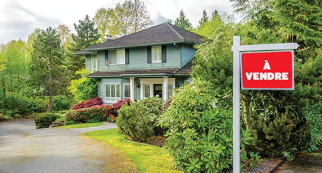 Tranche de vie: maison à vendre!