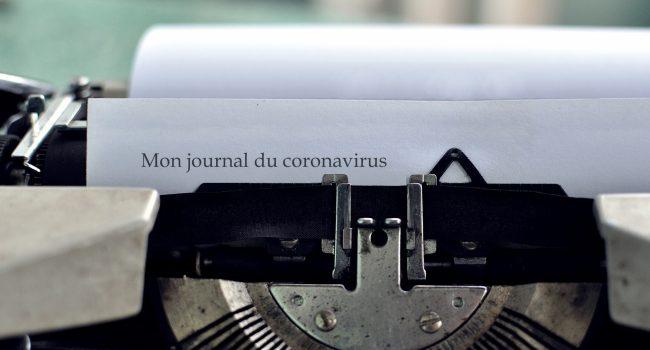 Mon journal du coronavirus