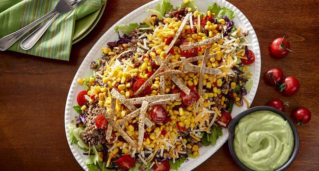 Salade tacos