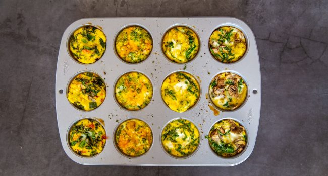 Omelettes-muffins