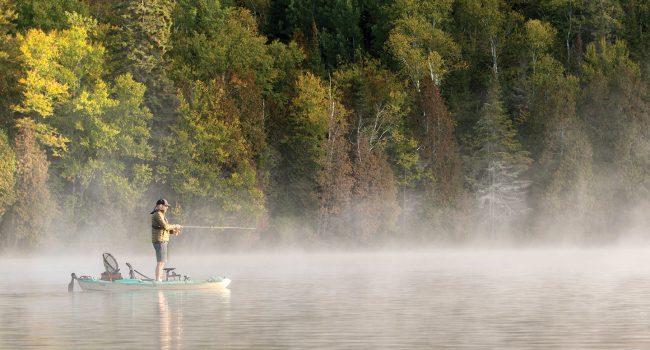 L'heure est à la pêche sans moteur