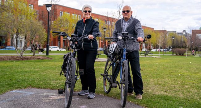 À go, on branche nos vélos!