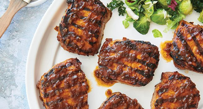 Côtelettes de porc épicées